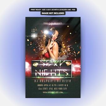 Festa de noites sexy