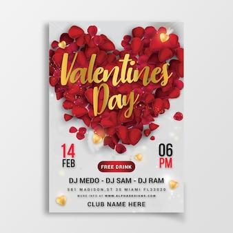 Festa di san valentino volantino