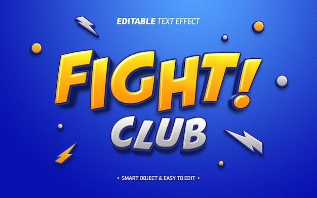 Fight club-teksteffect