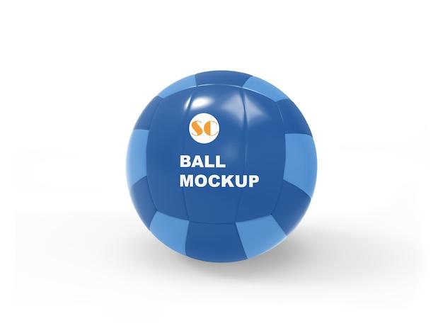 File psd di soccer ball mockup