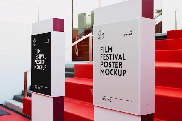 Filmfestival posters mock-up