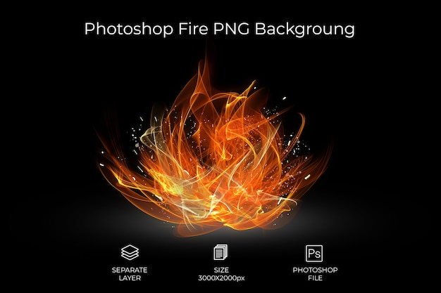 Fire backgroung