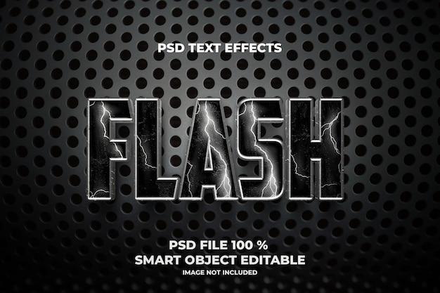 Flash-sjabloon voor teksteffecten