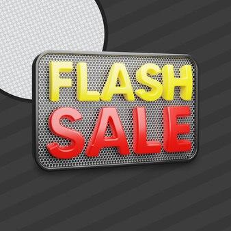 Flash-uitverkoop 3d
