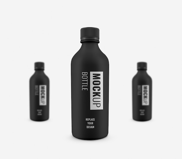 Fles plastic drinkmodel luxe