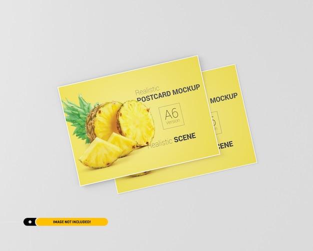 Flyer ansichtkaart mockup