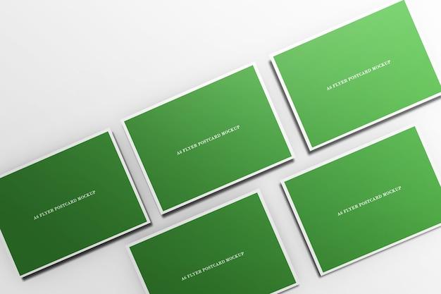 Flyer briefkaart mockup