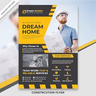 Flyer di costruzione