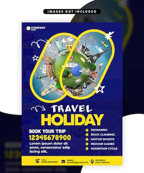 Flyer di viaggio
