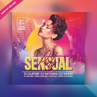 Flyer fiesta sensual