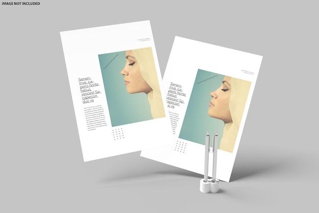 Flyer mockup ontwerp