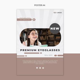 Flyer voor brillenbedrijf