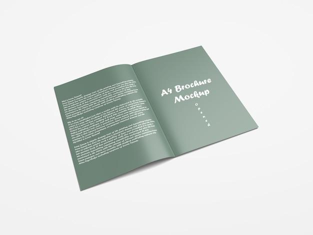 Folletos a4 / maquetas de catálogo
