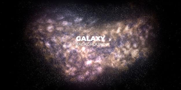 Fondo abstracto de galaxia