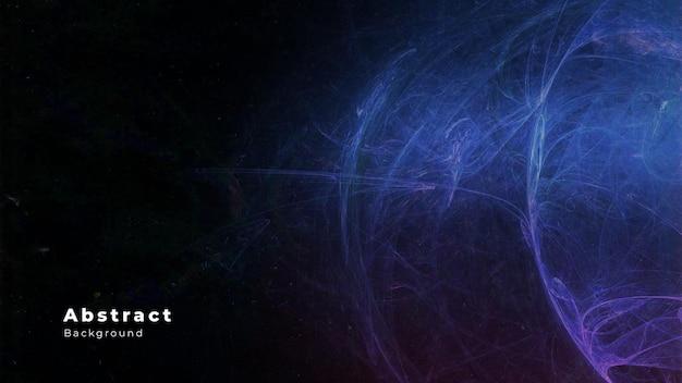 Fondo abstracto moderno con ondas 3d realistas
