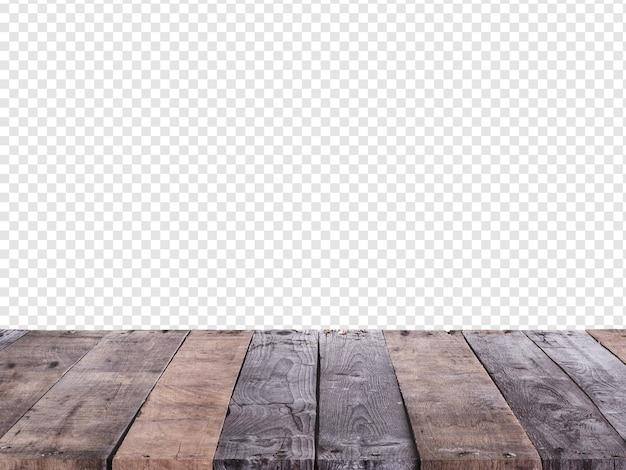 Fondo con suelo de madera