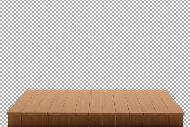 Fondo de tablero de madera aislado