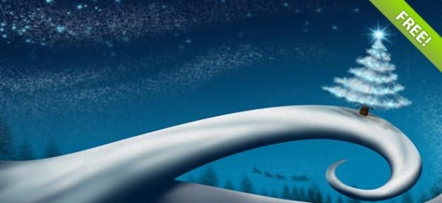 Fondos abstractos de invierno