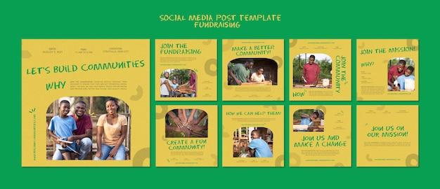 Fondsenwervende berichten op sociale media