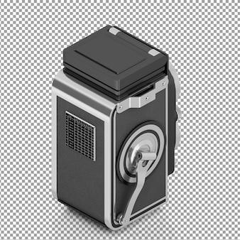 Fotocamera isometrica a doppio obiettivo
