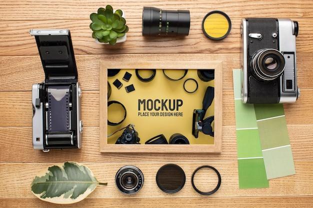 Fotograafworkshop met framemodel