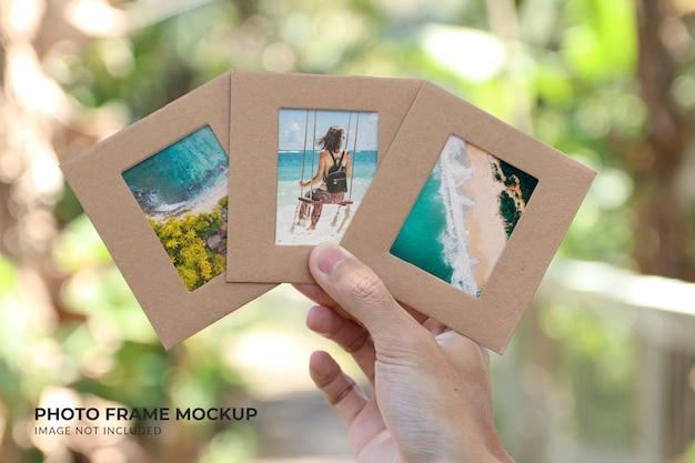 Fotolijst mockup design