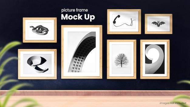 Fotolijsten mockup-collectie