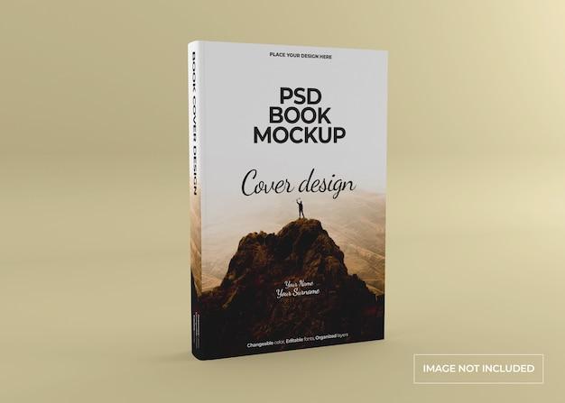 Fotorealistisch boekmodel met harde kaft