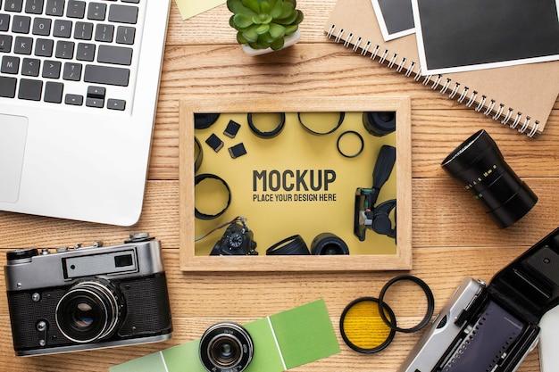 Fotoworkshop met lijstenmodel assortiment