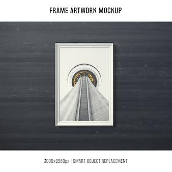 Frame artwork mock up