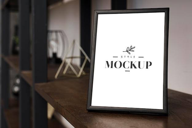 Frame mock-up voor interieurdecoratie