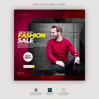 Frame moderne instagram social media sjabloon post-sjabloon of vierkante banner sweatshirt