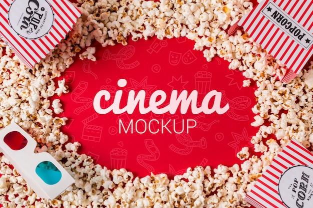 Frame van popcorn
