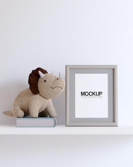Framemodel met decoraties voor kinderspeelgoed