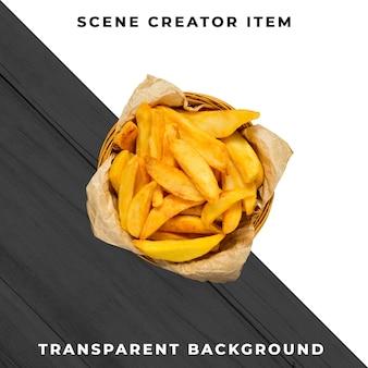 Fries oggetto psd trasparente