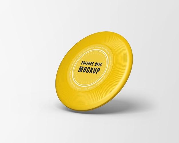 Frisbee disc mockup geïsoleerd
