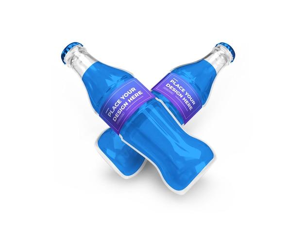 Frisdrankfles 3d-model