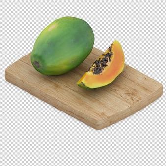 Fruta isometrica