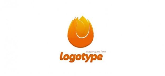 Fuego diseño del logotipo
