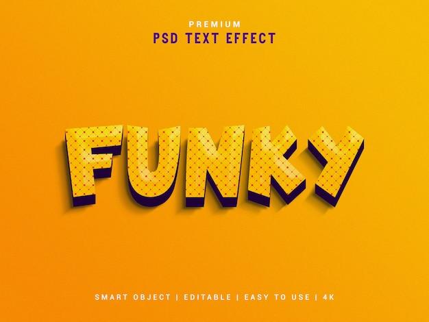 Funky maker van teksteffecten