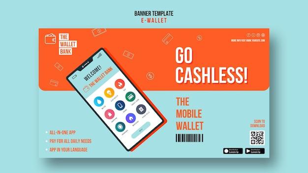 Ga cashless horizontale banner