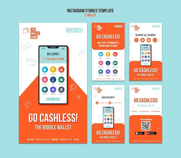 Ga cashless instagram-verhalensjabloon