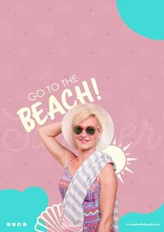 Ga naar de strandsjabloon