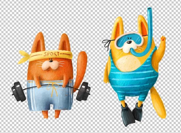 Gatti dei cartoni animati
