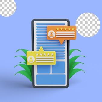 Gebruikersbeoordeling en feedback. klant beoordelingen cartoon web icoon. e-commerce, online winkelen