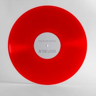 Gekleurde vinylplaat