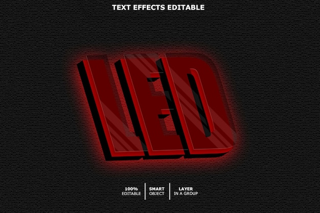 Geleid teksteffect