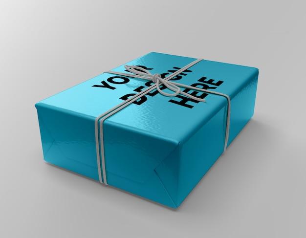 Geschenkdozen mockup Premium Psd