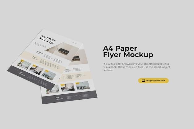 Geweldig flyer mockup-ontwerp