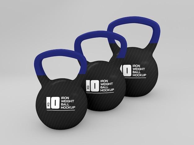 Gewichtsbal voor trainingsmodel